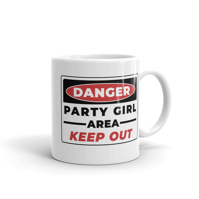 DANGER-PARTY-GIRL-Mug