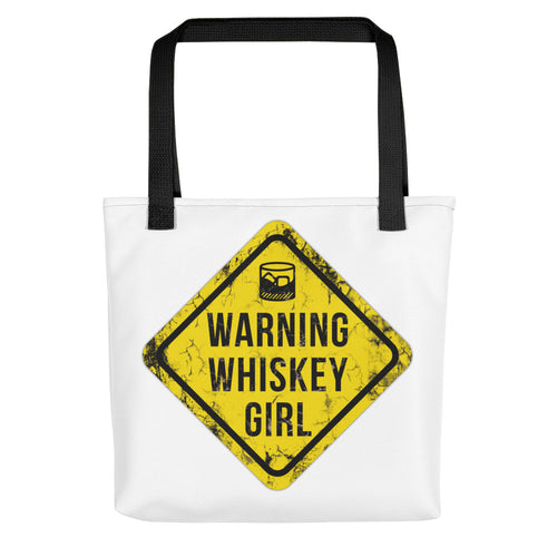 Whiskey-girl-Sign-Women's-Tote bag