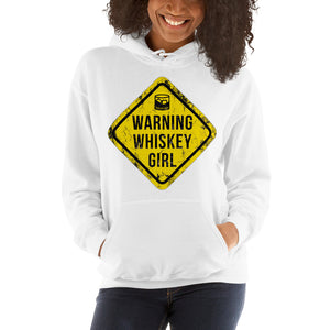 Whiskey-girl-Sign-Women's-Hooded Sweatshirt