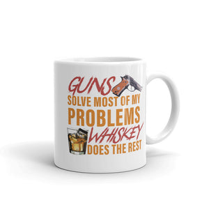 Guns-Whiskey Mug