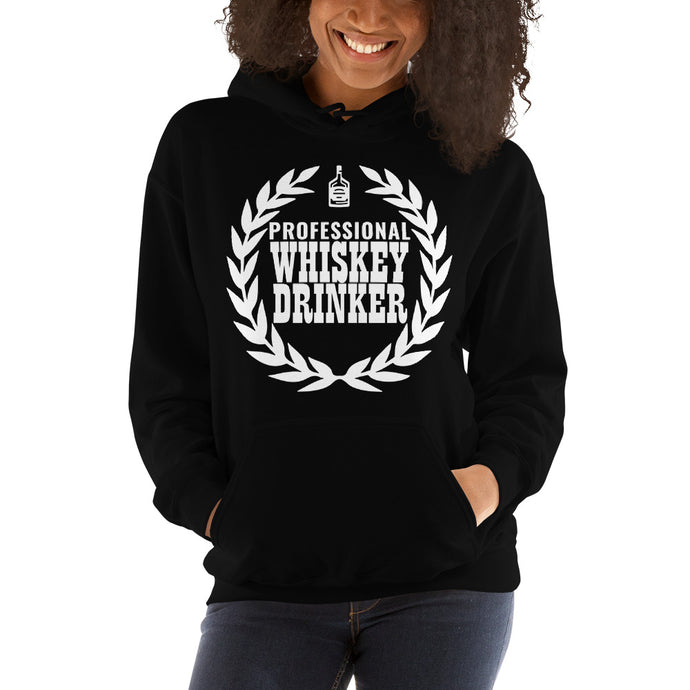 Whiskey-Drinker-Women's-Hooded Sweatshirt