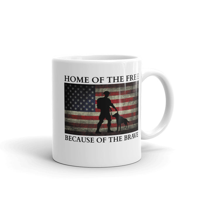 Home-of-the-free Mug