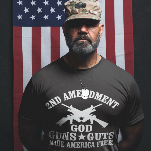 2ND-AMENDMENT Men's Short-Sleeve T-Shirt