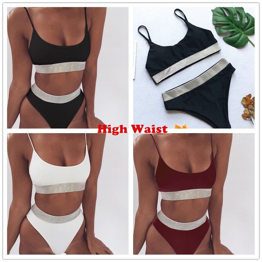Swimsuit High Waisted