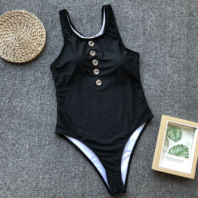 Sport One Piece Swim