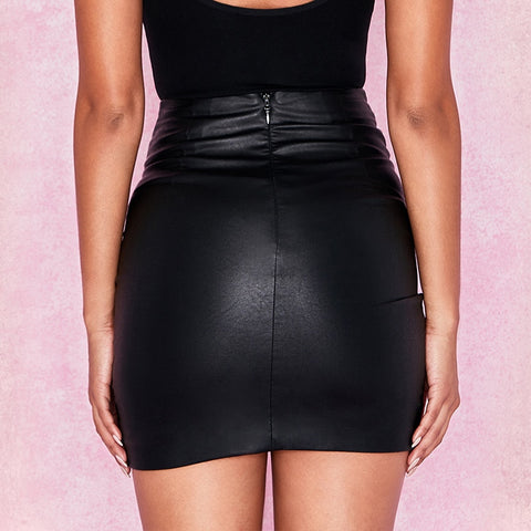 Gothic Pencil Wrap Skirts