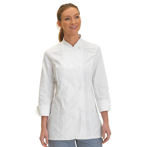 LE CHEF WOMENS LONG SLEEVE JACKET DD33