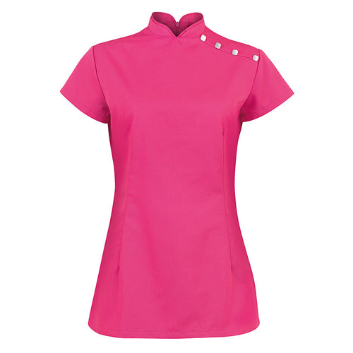 WOMENS STAND COLLAR BEAUTY TUNIC NF959