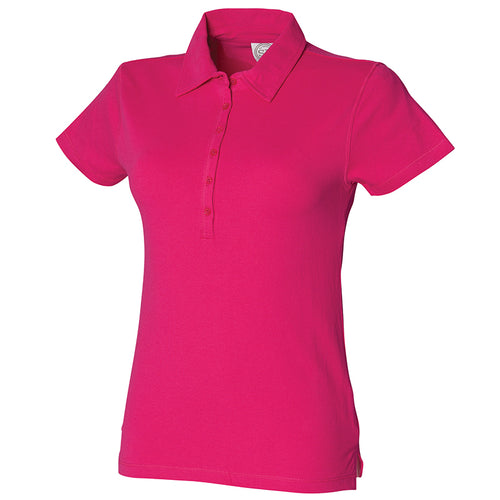 WOMENS SHORT SLEEVE STRETCH POLO