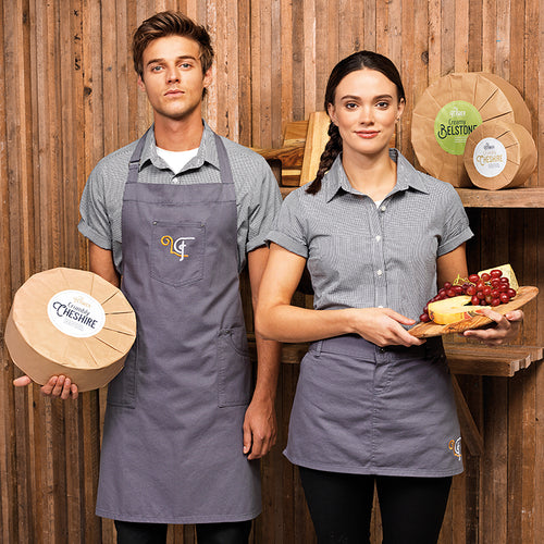 CHINO COTTON WAIST APRON