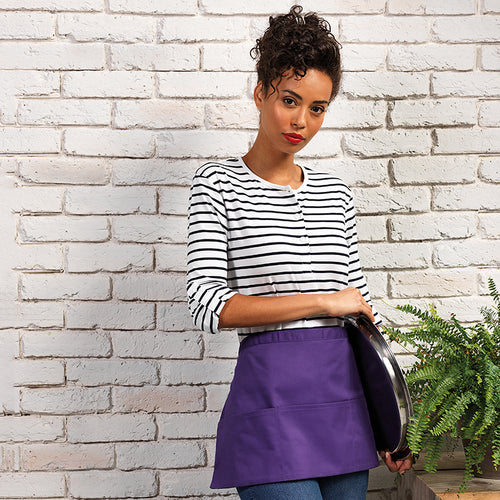 COLOURS 3 POCKET APRON