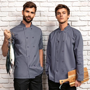 SHORT SLEEVED CHEFS JACKET