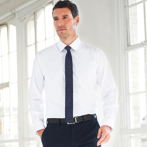 ALBA COTTON-RICH SLIM FIT SHIRT