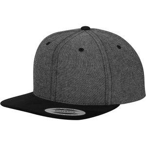 CHAMBRAY-SUEDE SNAPBACK 6089CH