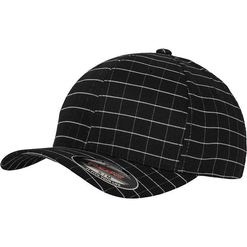 FLEXFIT SQUARE CHECK CAP 9277
