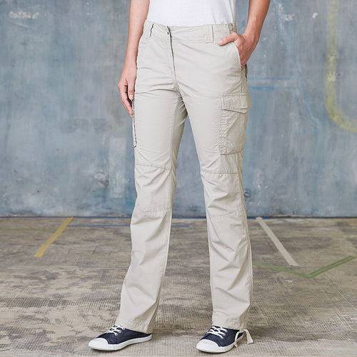 WOMENS MULTI-POCKET TROUSERS