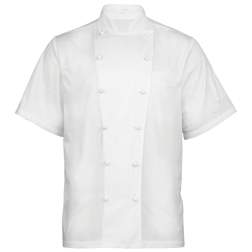 AMBASSADOR SHORT SLEEVE CHEFS JACKET