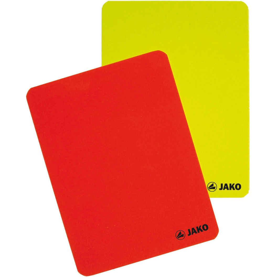 Referee card set