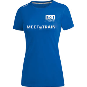 Womens JAKO DSD AC Meet & Train T-SHIRT DSD6175MTW