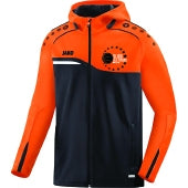 KIDS JAKO SLIGO ALLSTARS HOODY SA6818K BLACK NEON ORANGE