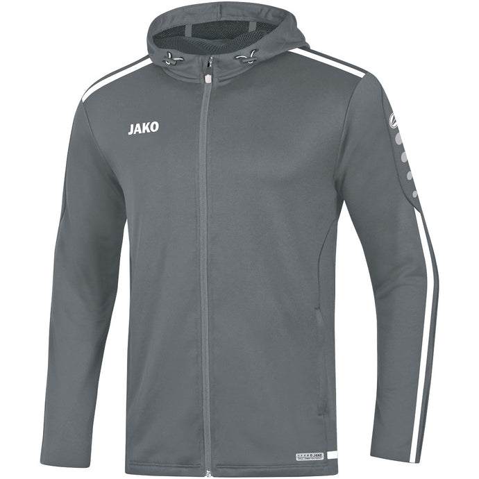 ADULT JAKO HOODY STRIKER 2.0 6819 STONE GREY