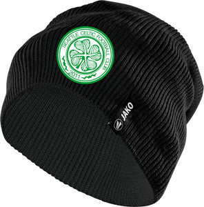 SEATTLE CELTIC BLACK BEANIE CAP SC0003