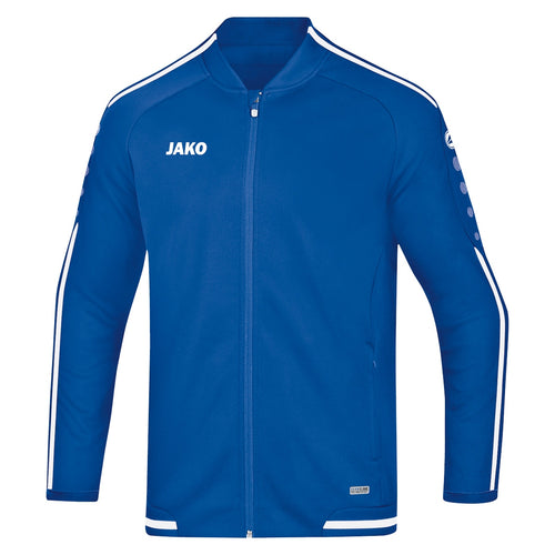 ADULT JAKO LEISURE JACKET STRIKER 2.0 9819 ROYAL