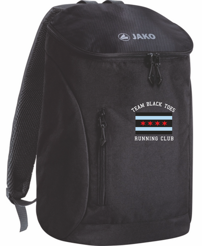 JAKO Black Toes Running Club Backpack BTR1860