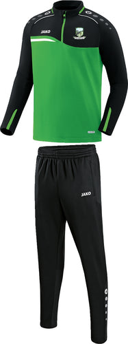 ADULT JAKO BALLYHEANE AFC ZIP TOP PACK 2222BH