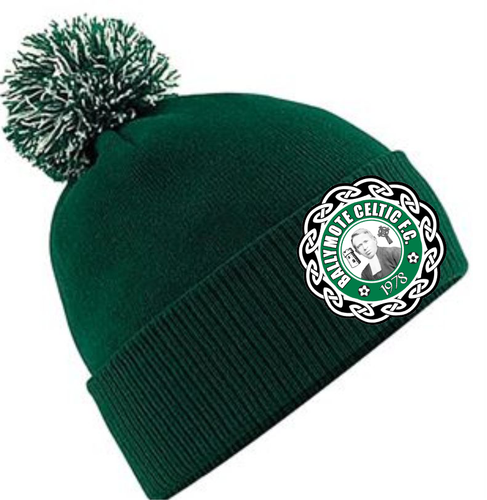 ADULT BALLYMOTE CELTIC BOBBLE HAT BC450