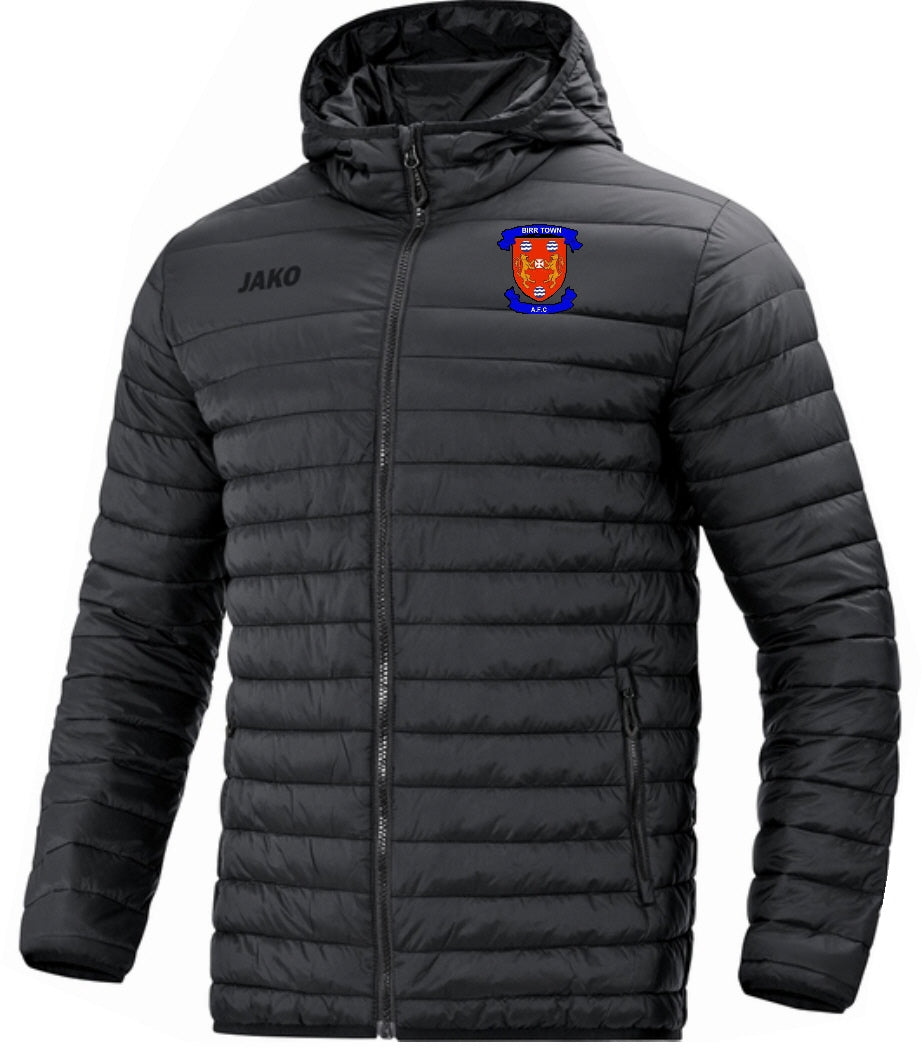 Adult JAKO Birr Town AFC Quilted Jacket BT7204