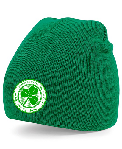 SEATTLE CELTIC GREEN BEANIE CAP SC0002