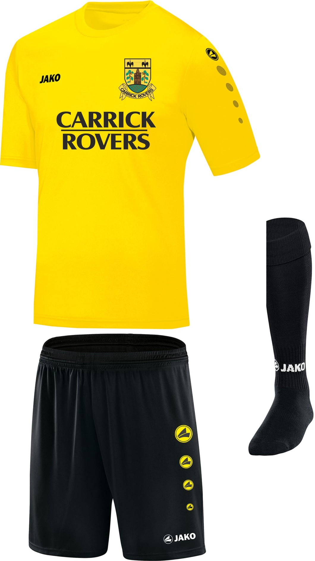 Adult JAKO Carrick Rovers Player Pack CR1111