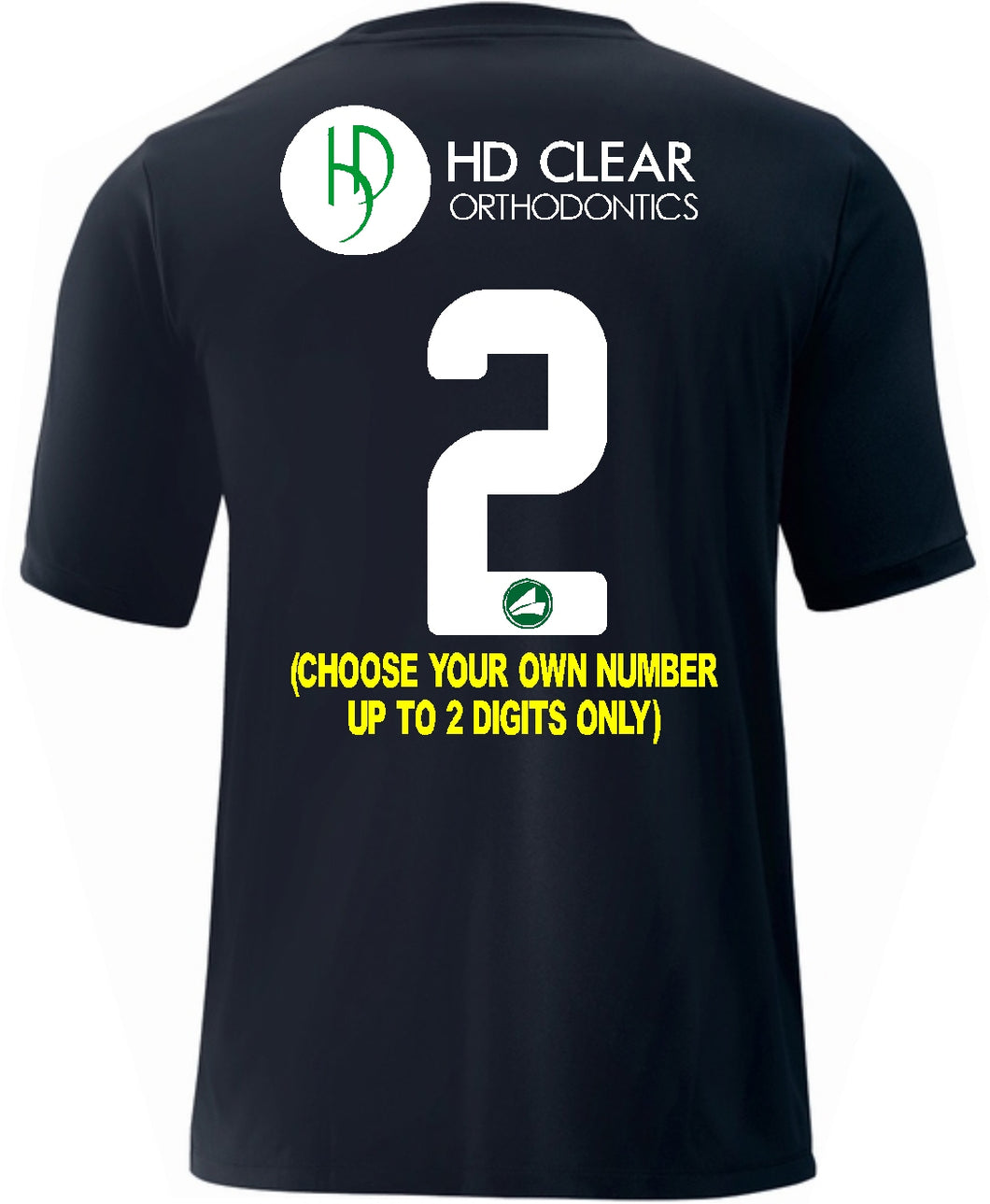 Adult JAKO CAYS HD Clear Back Black Jersey CAY1111HDBB