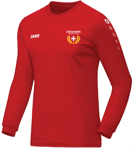 ADULT JAKO CRUSADERS AC LONG SLEEVE SHIRT CAC4333C