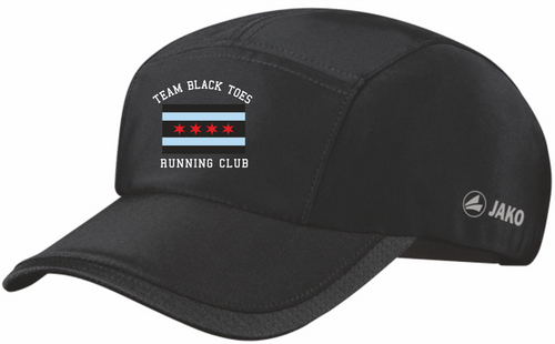 JAKO Black Toes Running Club Cap BTR1283