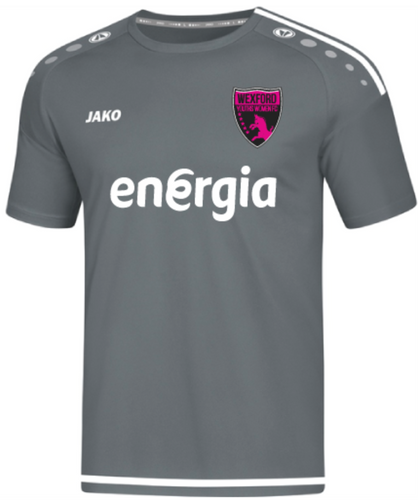 Kids JAKO Wexford Youths Women FC Away Jersey WYW4219AK