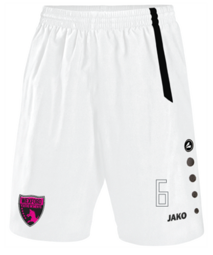 Adult JAKO Wexford Youths Women FC Away Shorts WYW4462A