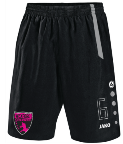 Kids JAKO Wexford Youths Women FC Home Shorts WYW4462HK