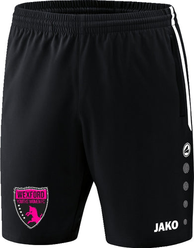 Womens JAKO Wexford Youths Women FC Leisure Shorts WYW6218W