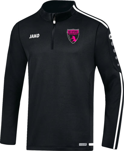 Adult JAKO Wexford Youths Women FC Zip Top WYW8619