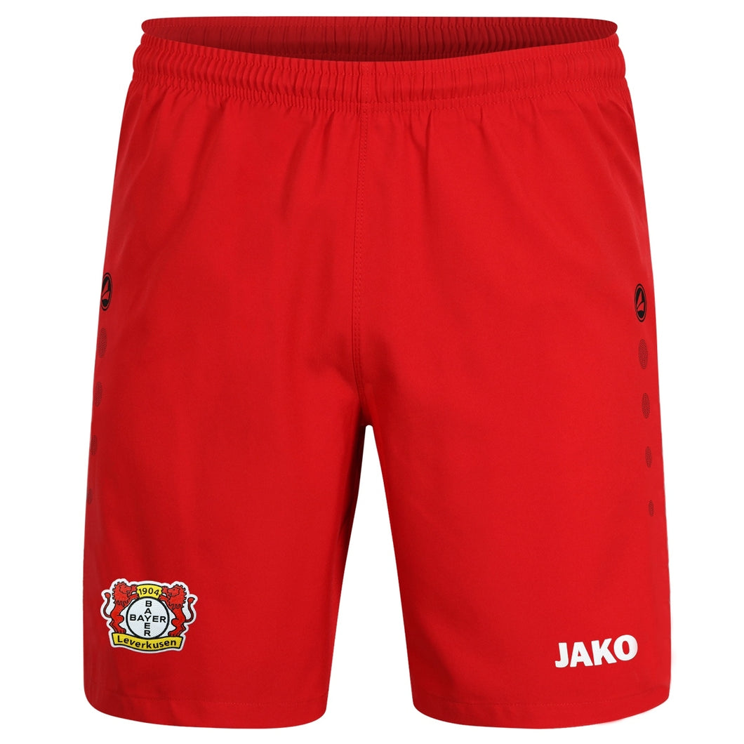 ADULT JAKO BAYER 04 LEVERKUSEN HOME SHORTS BA4419H 1