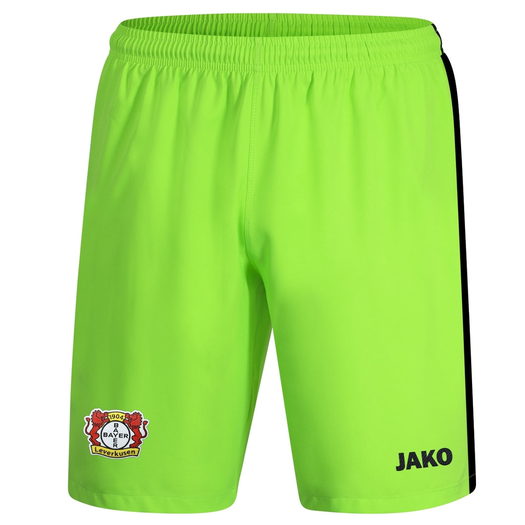 ADULT JAKO BAYER 04 LEVERKUSEN GOALKEEPER SHORTS BA4419T
