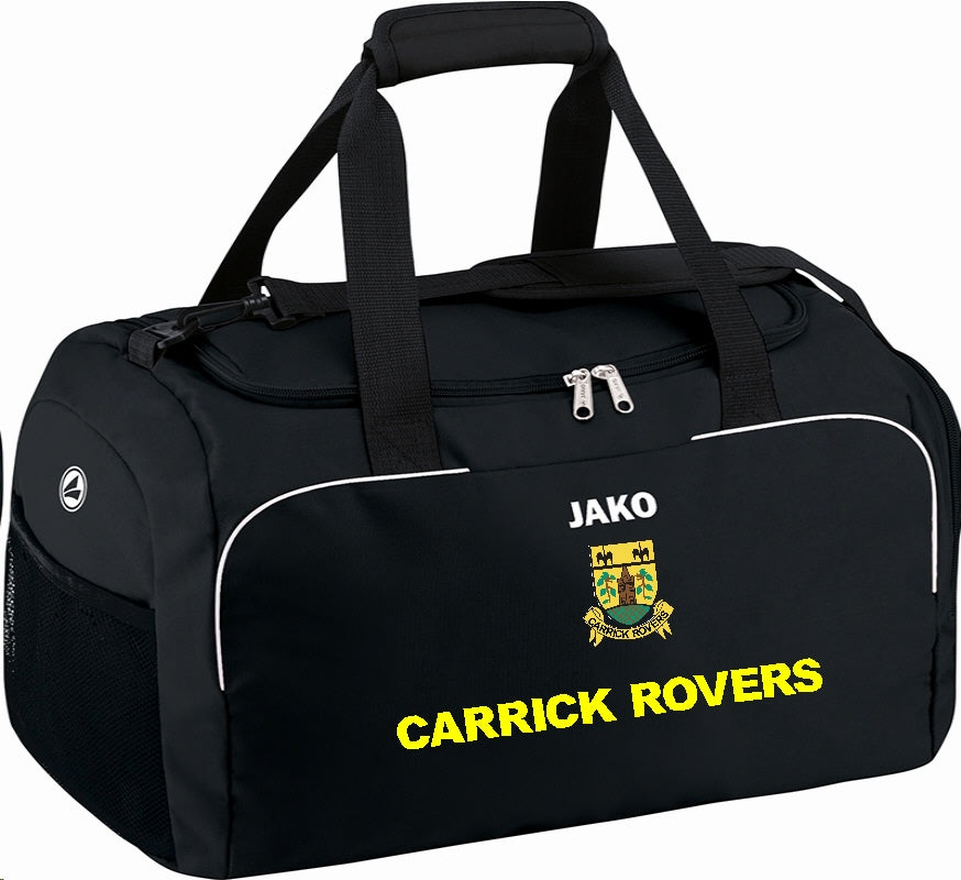 ADULT CARRICK ROVERS JAKO SPORTS BAG CR1950 BLACK