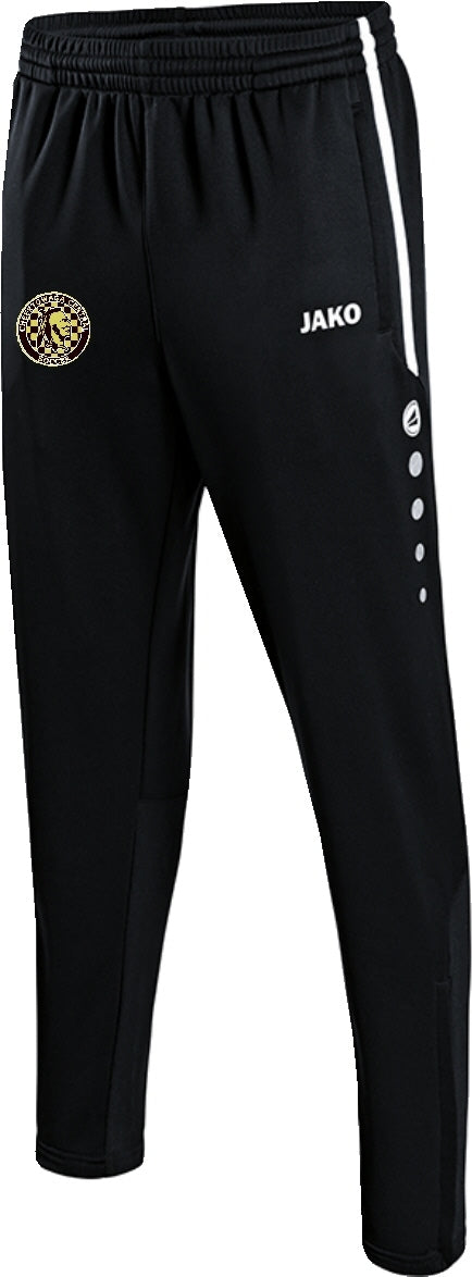 JAKO CHEEKTOWAGA CENTRAL ACTIVE PANTS CH8495 BLACK