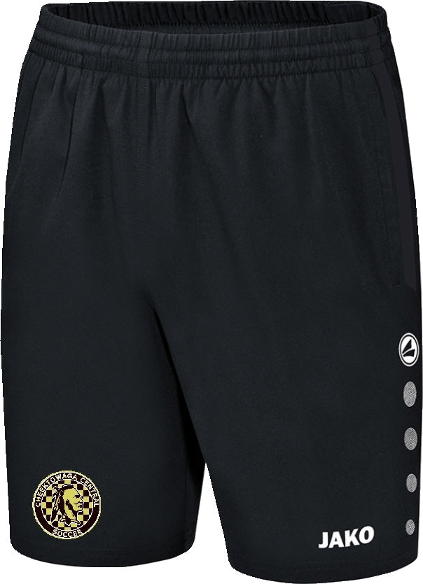 JAKO CHEEKTOWAGA CENTRAL LEISURE SHORTS CH6217 BLACK