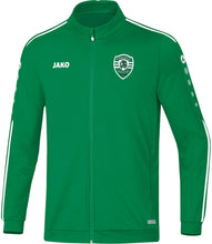 Load image into Gallery viewer, KIDS JAKO CARLISLE SOCCER POLY JACKET CS9319K GREEN