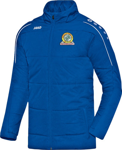 KIDS JAKO SKY VALLEY ROVERS COACH JACKET SVR7150K ROYAL