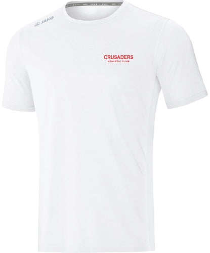 ADULT JAKO CRUSADERS AC TSHIRT WITH TEXT CAC6175T WHITE WITH TEXT