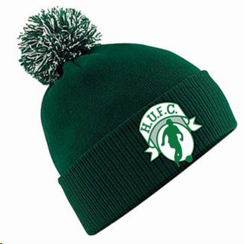 JAKO HIGHFIELD UNITED BOBBLE HAT HUB450 GREEN